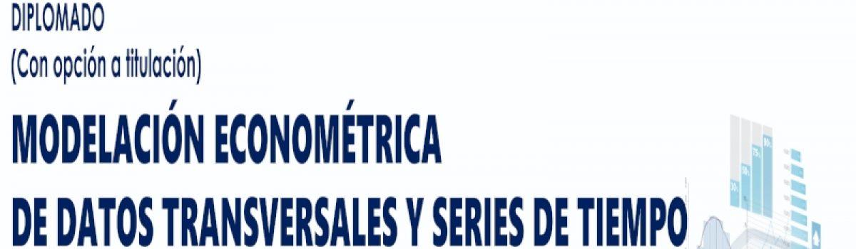 Modelación Econométrica de Datos Transversales y Series de Tiempo