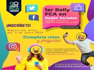 1er Rally FCA en redes sociales @ Facultad de Contaduría y Administración | Ciudad de México | Ciudad de México | México