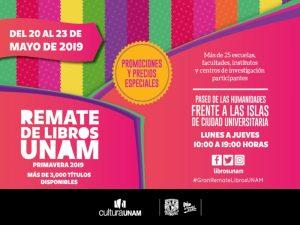 Remate de Libros, Primavera 2019 @ Paseo de las Humanidades, CU | Ciudad de México | Ciudad de México | México