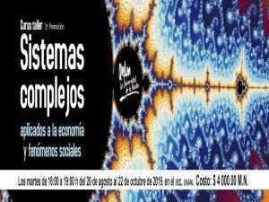 Sistemas complejos aplicados a la economía y fenómenos sociales @ Sala de cómputo 2, Instituto de Investigaciones Económicas | Ciudad de México | Ciudad de México | México
