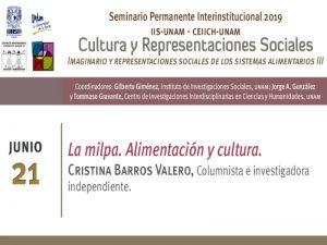 La milpa. Alimentación y cultura. @ Auditorio del Instituto de Investigaciones Sociales | Ciudad de México | México