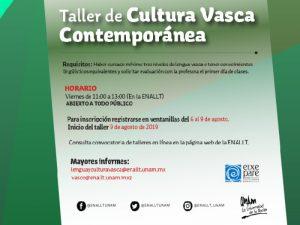 Cultura Vasca Contemporánea @ Ventanillas de la ENALLT   Ciudad de México   Ciudad de México   México