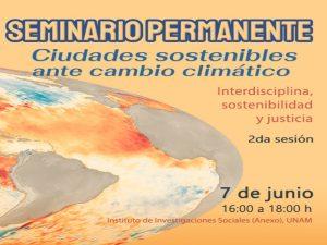 Islas de calor urbano y su mitigación por medio de la cobertura vegetal @ Sala de conferencias, Instituto de Investigaciones Sociales | Ciudad de México | México