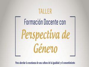 Formación Docente con Perspectiva de Género @ Salón:20, Edificio B   Ciudad de México   Ciudad de México   México