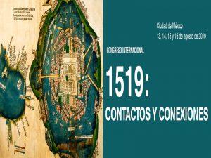 1519: Contactos y conexiones @ Salón de Actos, Instituto de Investigaciones Históricas   Ciudad de México   Ciudad de México   México