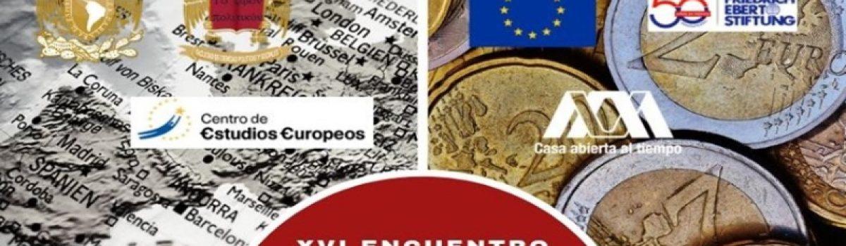 XVI Encuentro Interuniversitario de Estudios Europeos: Derroteros y Definiciones de Europa