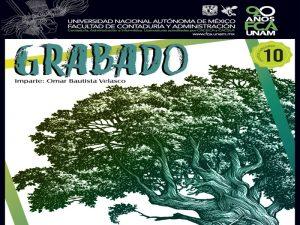 Grabado @ Facultad de Contaduría y Administración | Ciudad de México | Ciudad de México | México