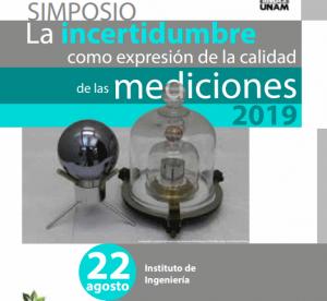 Simposio: La incertidumbre como expresión de la calidad de las mediciones @ Instituto de Ingeniería | Ciudad de México | Ciudad de México | México