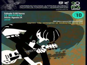 Iniciación a la guitarra @ Facultad de Contaduría y Administración   Ciudad de México   Ciudad de México   México