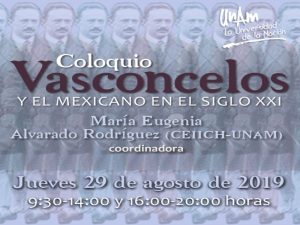 Vasconcelos y el mexicano en el siglo XXI @ Auditorio del CEIICH | Ciudad de México | Ciudad de México | México