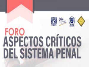 Aspectos Críticos del Sistema Penal @ Aula Centenario | Ciudad de México | Ciudad de México | México