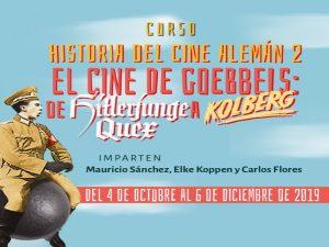 Historia del Cine alemán 2: el cine de Goebbels: De Hitlerjunge Quex a Kolberg @ Sala de Videoconferencias del CEIICH, | Ciudad de México | Ciudad de México | México