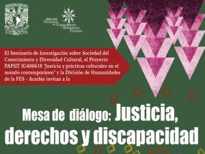 Justicia, derechos y discapacidad @ Auditorio Posgrado | Naucalpan de Juárez | Estado de México | México