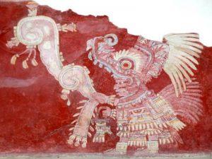 Pintura mural teotihuacana, Estado de México. @ CEPE | Ciudad de México | Ciudad de México | México
