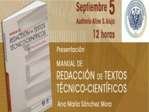 Manual de Redacción de Textos Técnico-Científicos @ Auditorio Aline S. Aluja | Ciudad de México | México